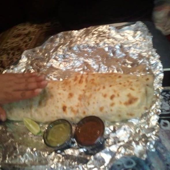 Burrito Carne Asada @ Taco Don Juan