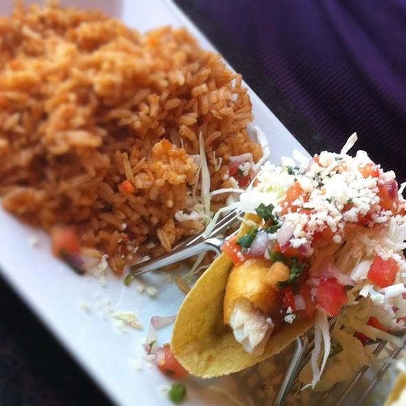 Milagro modern mexican menu webster groves mo for Baja fish tacos menu