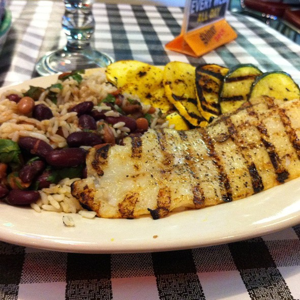 Grouper Plate @ Flying Fish