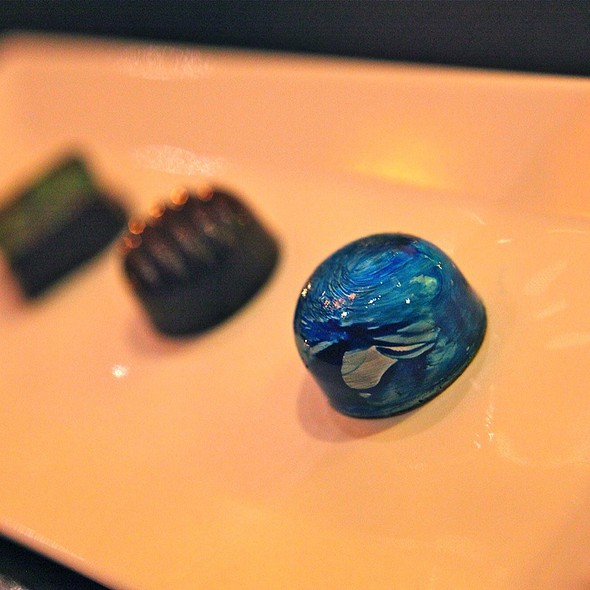 Chocolate Truffles - Jsix Restaurant, San Diego, CA