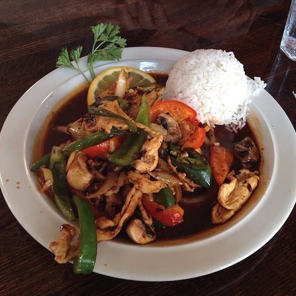 Pad Prik @ Thai Diner