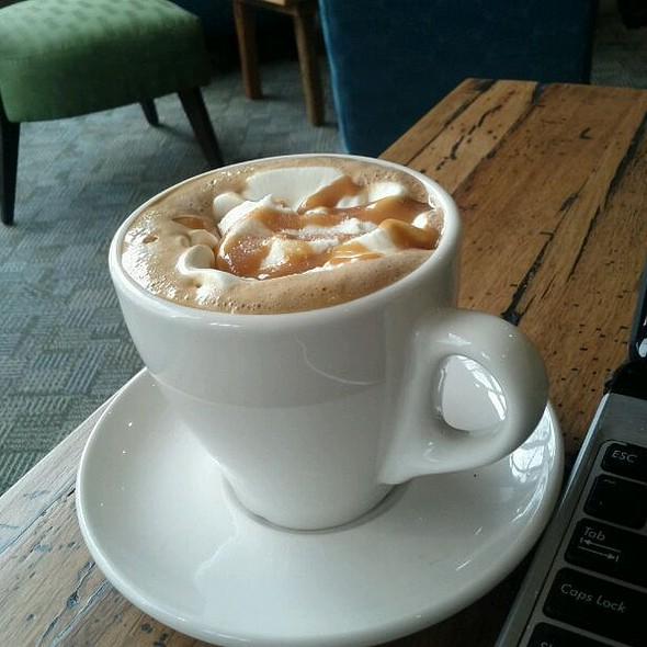 Salted Caramel Mocha @ Pillars Social Cafe