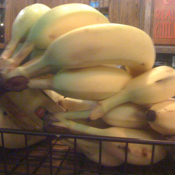 Bananas @ Potbelly Sandwich Shop - Midway Airport