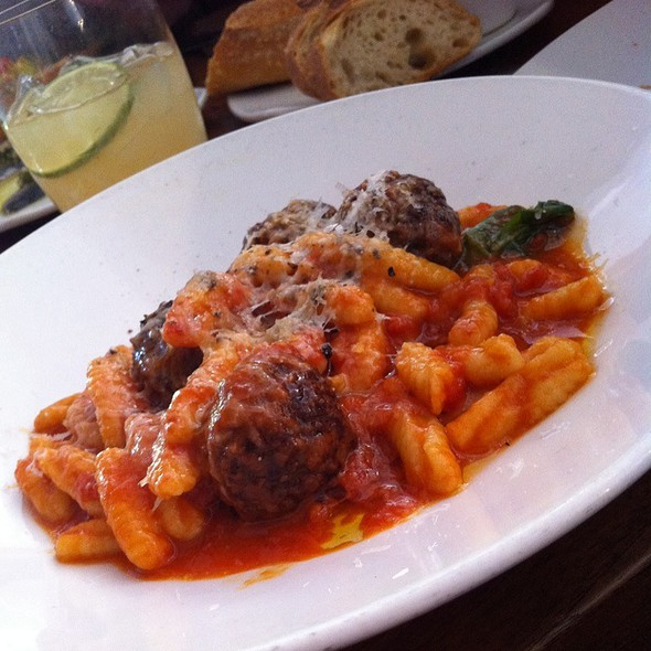 Cavatelli With Lamb Meatballs @ COCO500