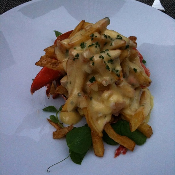 Lobster Poutine @ Bymark