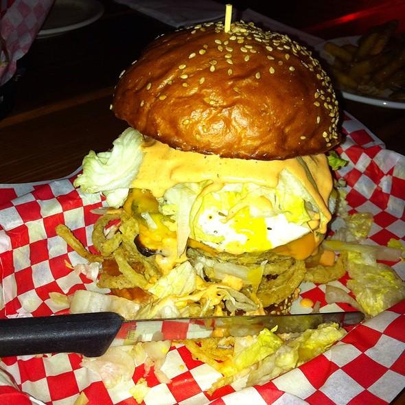Burner Burger @ Foster Burger