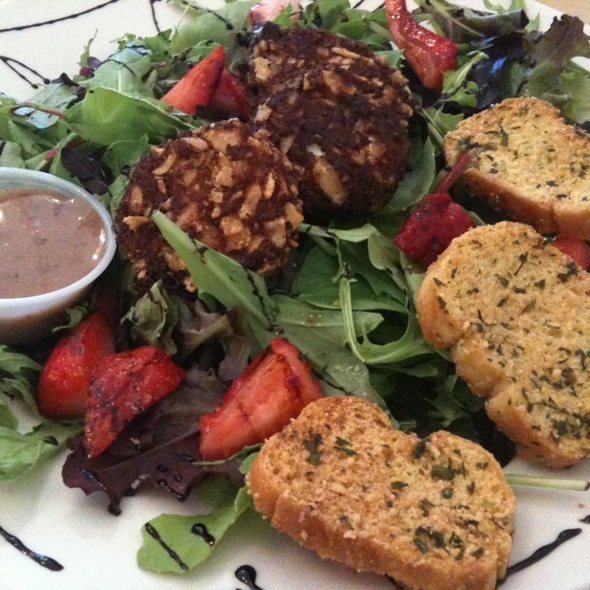 Fried Goat Cheese Salad @ Bountiful Bakery & Cafe