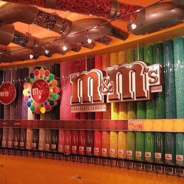 M And M's @ M & M 'S