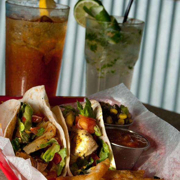 Mahi Fish Tacos @ Fly Creek Cafe, Bar & Marina