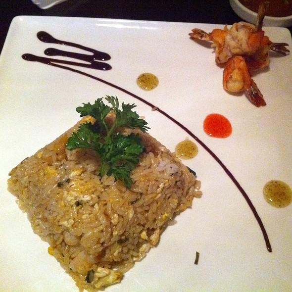 Basil Mango Shrimp Fried Rice @ Fujiyama Japanese Steak & Sushi