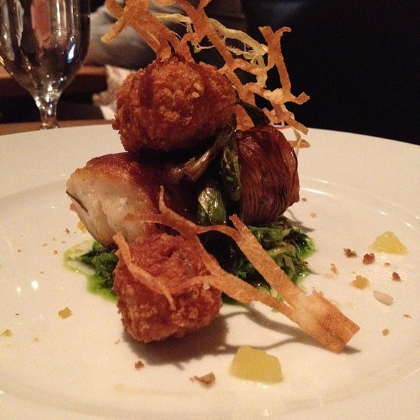 Fish and Chips @ Restaurant Marc Forgione