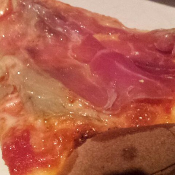 Pizza Parma Ham And Artichoke @ Rosano