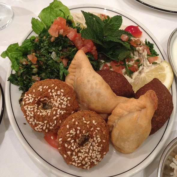 Mezze @ Al Waha Restaurant