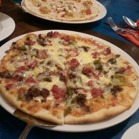 Jalapeno Diablo Pizza @ Mooon Cafe
