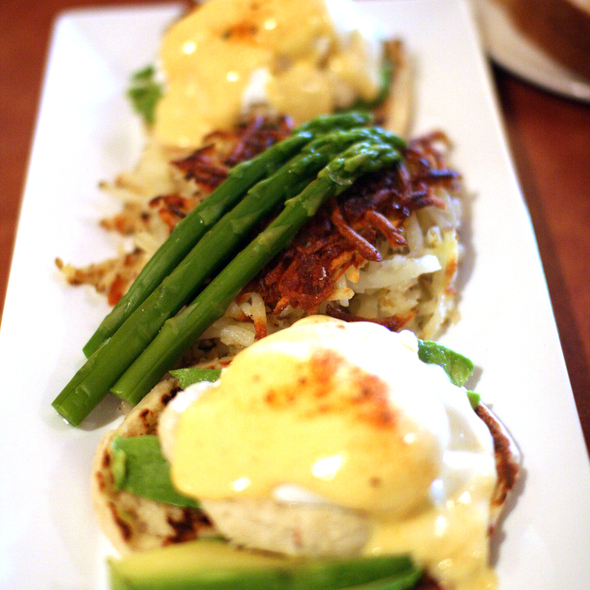 California Eggs Benedict - Marina Kitchen - San Diego Marriott Marquis & Marina, San Diego, CA