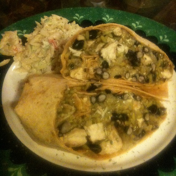 Spanish Wrap With Risotto  - Under The Moon Cafe, Bordentown, NJ