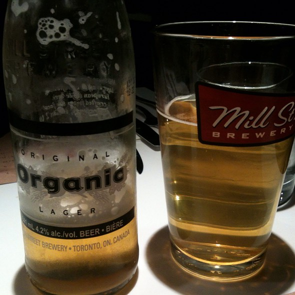 Mill Street Organic Beer @ O&B Canteen