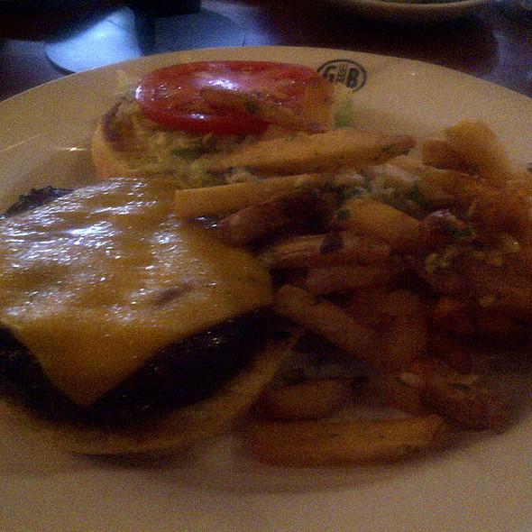 Kobe Cheeseburger @ Gordon Biersch Brewery Rstrnt