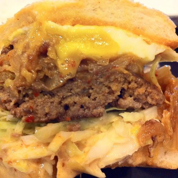 Kimchi Burger @ bopNgrill