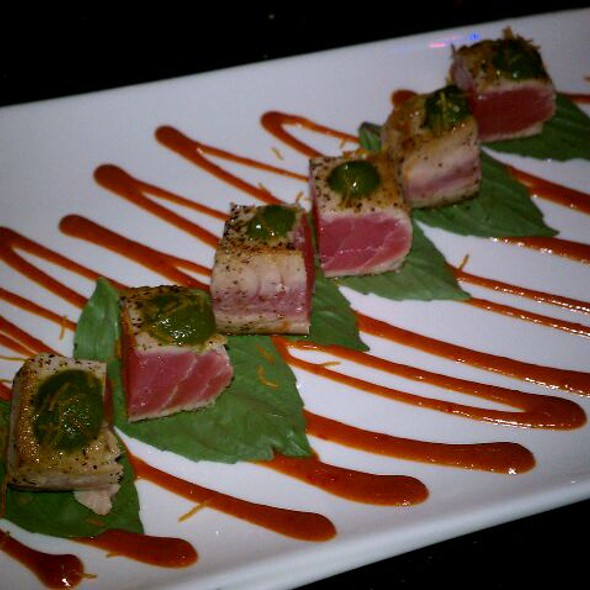 Thailand Tuna Appetizer