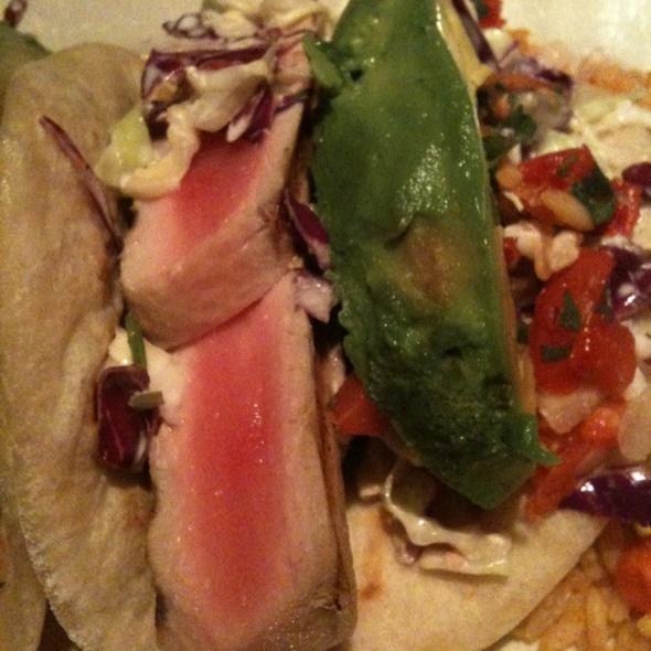 Ahi Tacos @ Margarita Ranch
