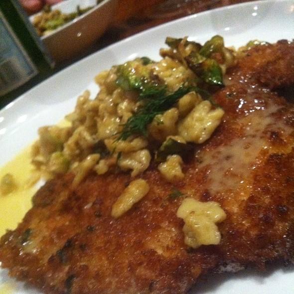 Pork Schnitzel - Late Harvest Kitchen, Indianapolis, IN