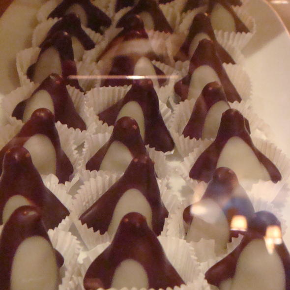 Chocolate Penguins @ L.A. Burdick