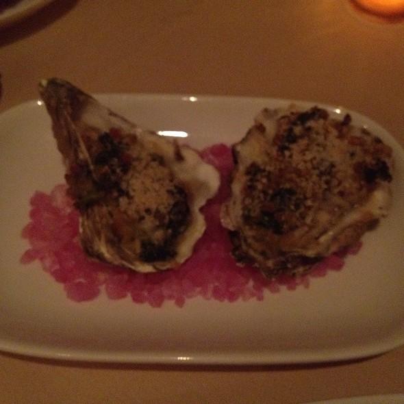 Oysters Rockefeller @ Duck Club Restaurant