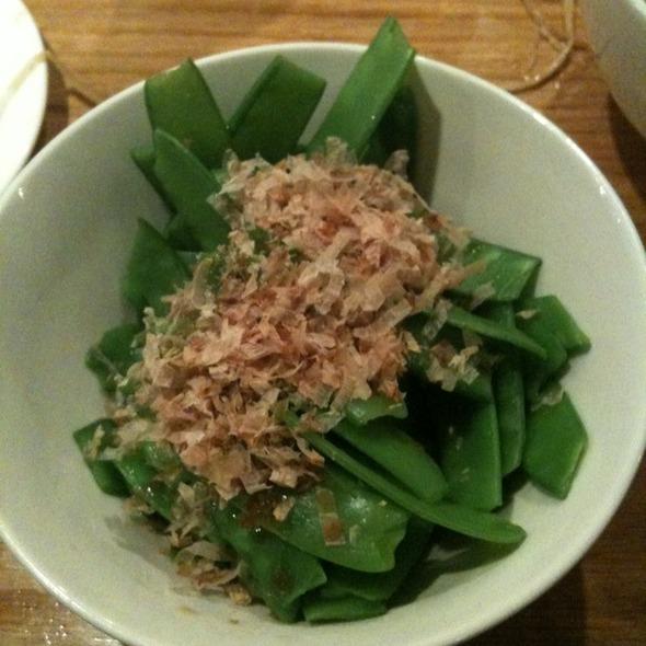 Snow Pea Salad @ Kambi Ramen Inc