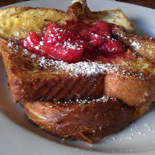 French Toast w/ Fresh Strawberries @ Little Owl