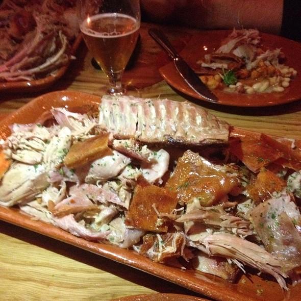 Roast Suckling Pig @ Amada