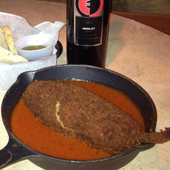 Stuffed Roasted Pablano Pepper