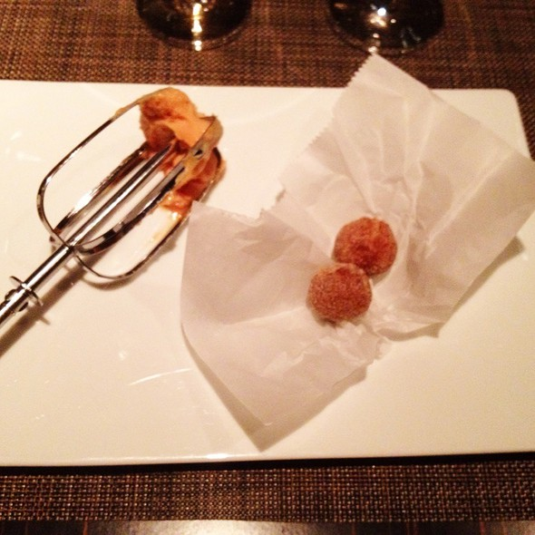 'Foie'sting And Donuts @ Next Restaurant