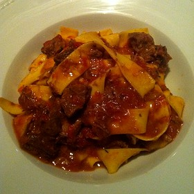 Pappardelle with Boar Ragu