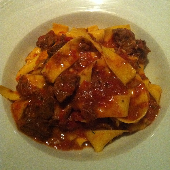 Pappardelle with Boar Ragu - Hostaria, Montreal, QC