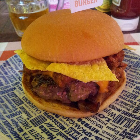 Chili Burger @ The Burger Map
