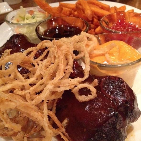 Beef Ribs And Sweet Potato Fries