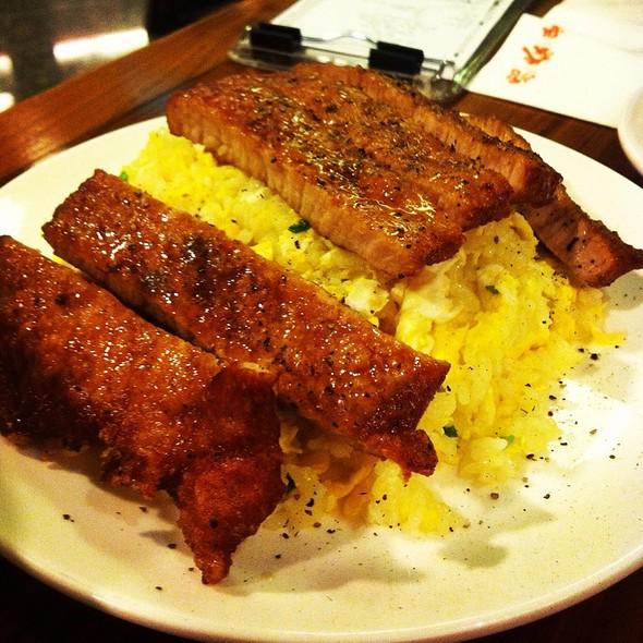 Fried Rice With Pork Chop @ Raffles City
