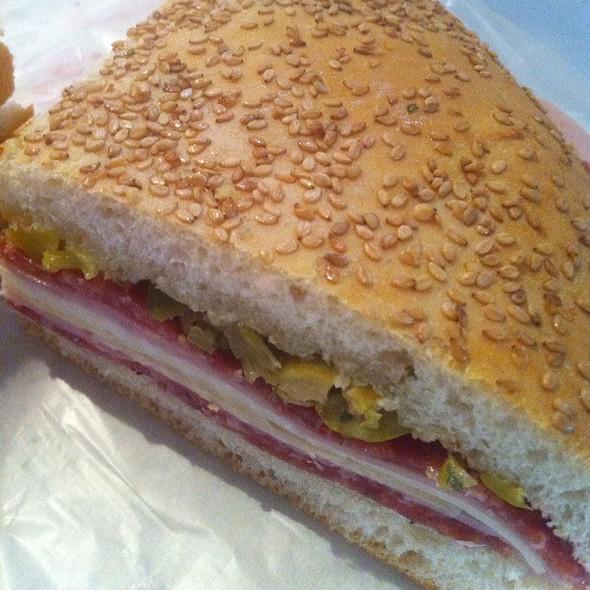 Muffuletta Sandwich @ Central Grocery