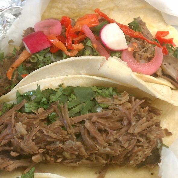 Goat Barbacoa Tacos @ Taqueria Tlaxcalli