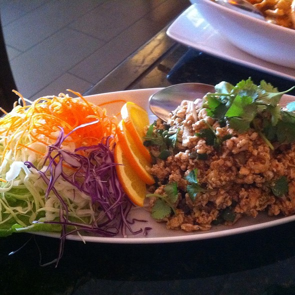 Chicken Larb Salad @ Bai Plu Restaurant & Sushi Bar
