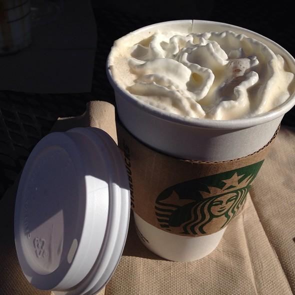 White Chocolate Mocha @ Starbucks