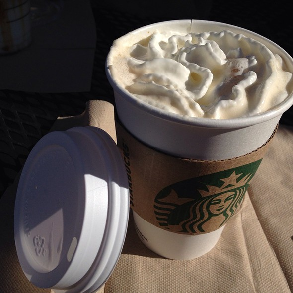 White Chocolate Mocha @ Starbucks