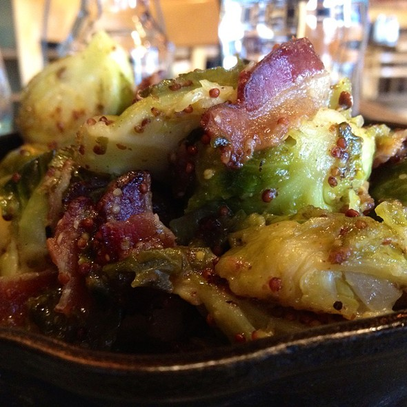 Braised Brussel Sprouts - The Six - WLA, Los Angeles, CA