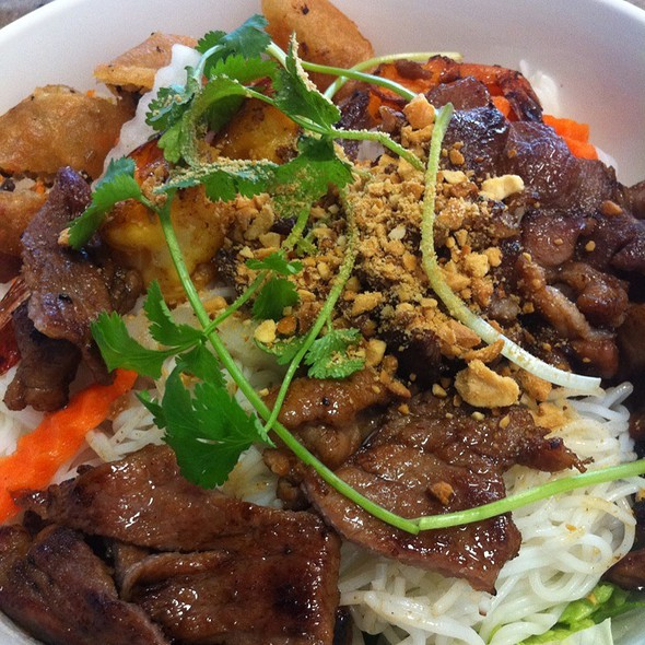 Grilled Pork Vermicelli Bowl @ Pho Y Lundy Inc