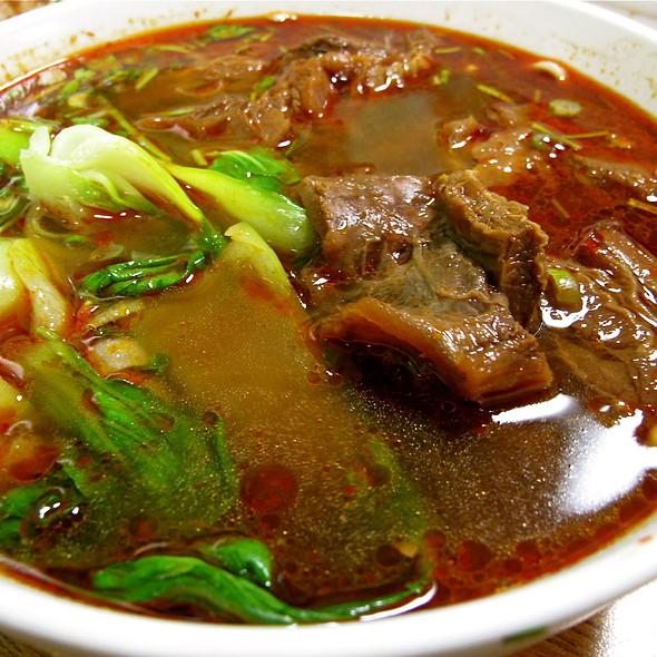Spicy Beef Noodle Soup @ QQ Noodles