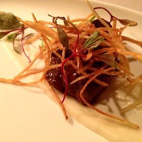 Apple Barbeque Braised Pork Ton Toro