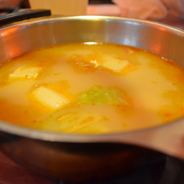 Satay Hot Pot Soup @ Cafe De Coral