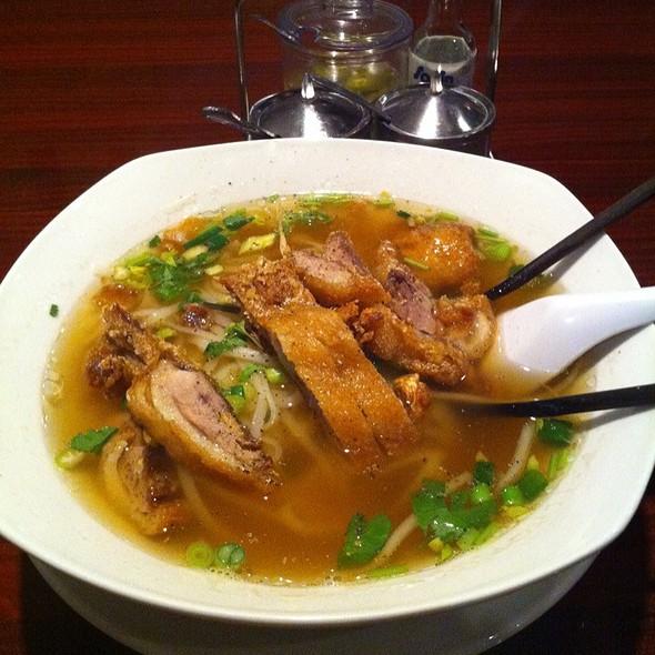 duck noodle soup @ Best Thai Richardson