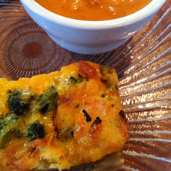 Broccoli And Cheese Stratta @ Saint Charles Coffee House